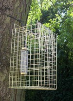 Patented Elgeeco squirrel trap and bird feeder 328.45